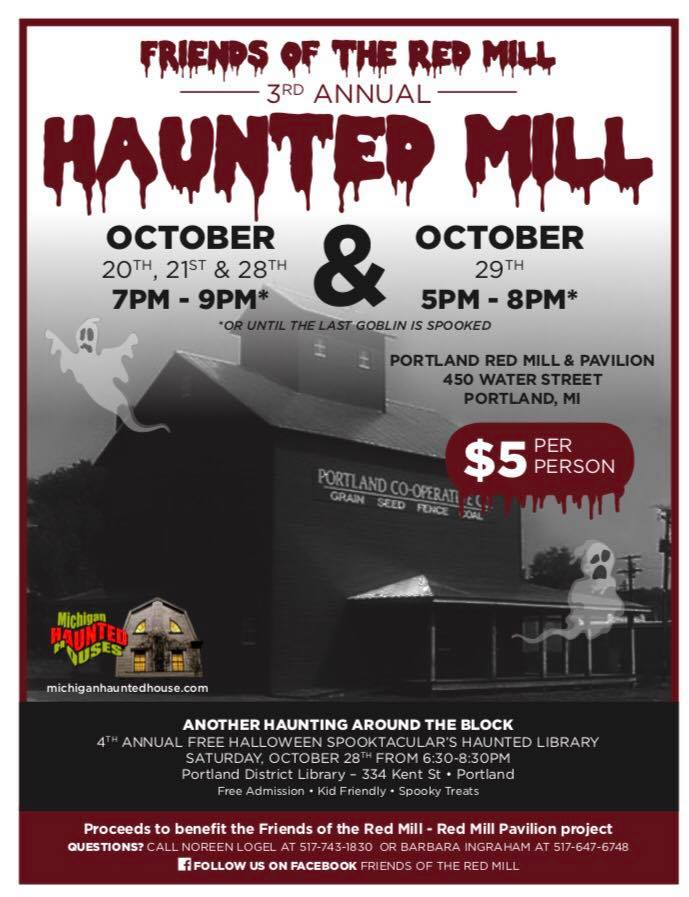 2017 Haunted Mill flyer